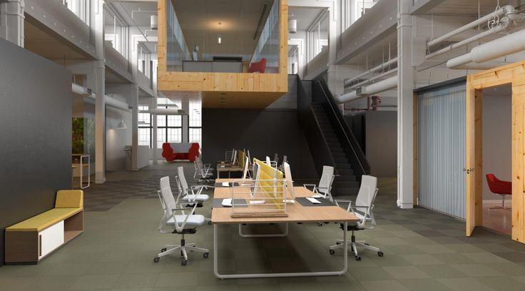 Rendering 2014, Nowy Styl stand, BN Office Solution by WertelOberfell