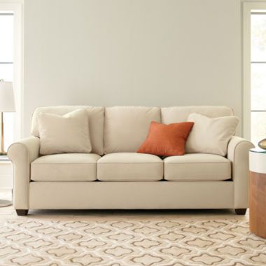 Fabric Possibilities Roll Arm Sofa Found At Jcpenney Get