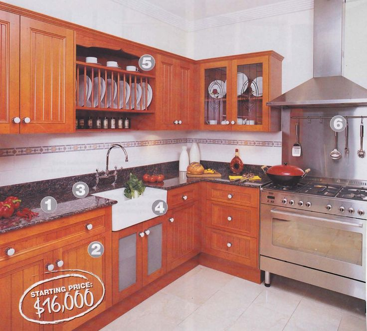 Kitchen With Oregon Cupboards, Granite Benchtops And