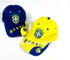 World Cup Soccer  Brazil Caps.