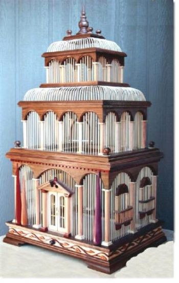 04-FS-146 - Venice Bird Cage Woodworking Pattern