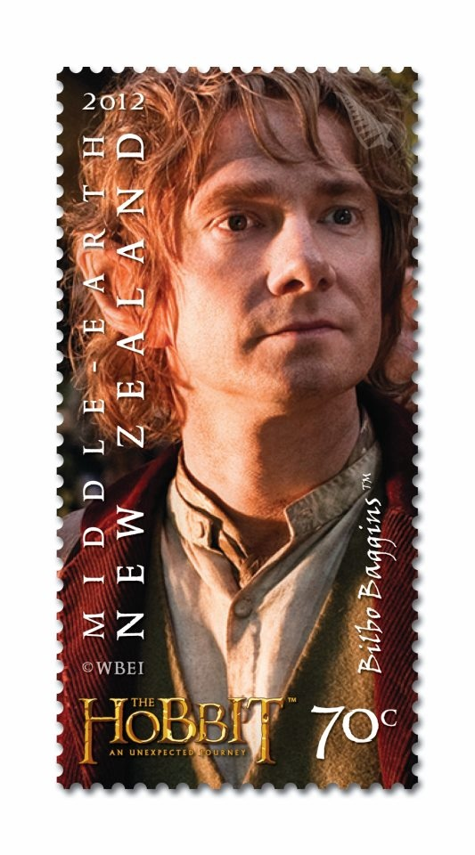 Hobbit stamp.: Martin Freeman, Hobbit Stamps, Coins, Literary Stamps, Stamps Collector, Topic Thematic Stamps, Bilbo Stamps, Zealand Stamps, Postage Stamps