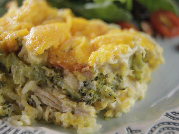 Chicken Broccoli Casserole recipe from Trisha Yearwood via Food Network KSS add a little curry powder