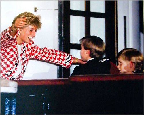 Princess Diana and her boys.  My favorite picture of Princess Di!