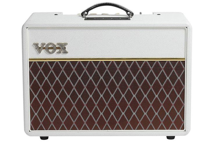 Vox AC10C1 10 Watt Limited Edition Guitar Combo Amp - White Bronco