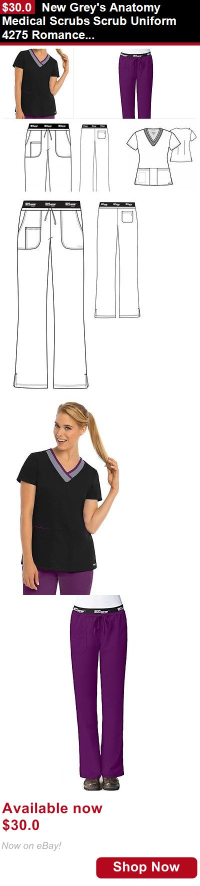 Adult uniforms: New Greys Anatomy Medical Scrubs Scrub Uniform 4275 Romance 41399 Pants Or Top BUY IT NOW ONLY: $30.0