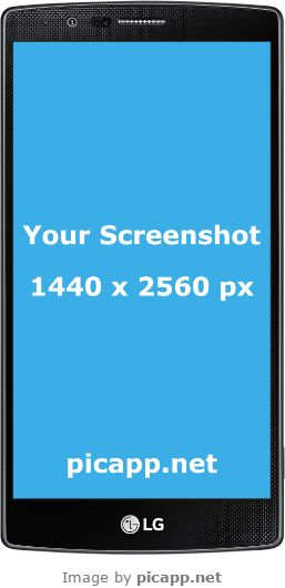If you have a cool screenshot and want to place it on a LG frame, you can do that very easy with Picapp.net. With just one click your work is done. And it's free!  #lgG4Black #nobackground #lg #mockup