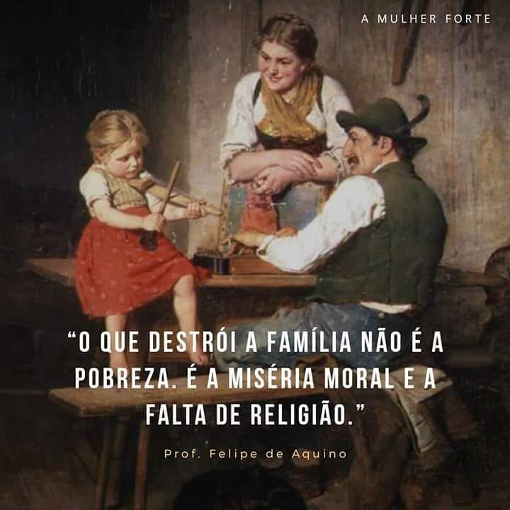O Pior Problema Hoje Das Familias Desestruturadas Nao E De Ordem