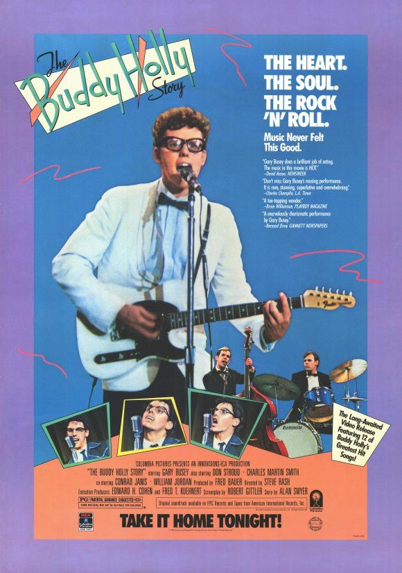 The Buddy Holly Story 11x17 Movie Poster (1978)