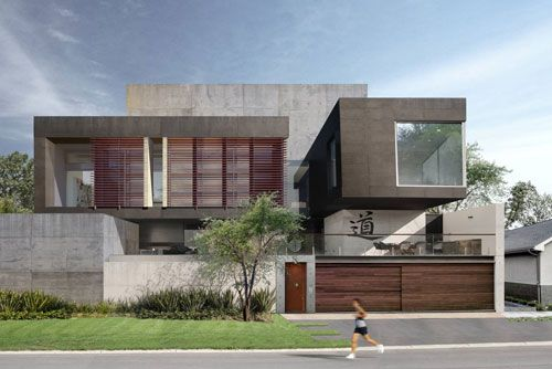 The WOLF Concrete Eight House is an unrivaled masterpiece. With a no expense spared attitude this house is beyond what most would consider a dream home. The Chinese owners have a proud ancestry with a strong military connection. They wanted the house to celebrate their heritage while also serving as a