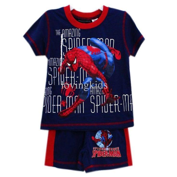 Rosey Kids - Spiderman Pjs, $20.00 (http://www.roseykids.com.au/spiderman-pjs/)