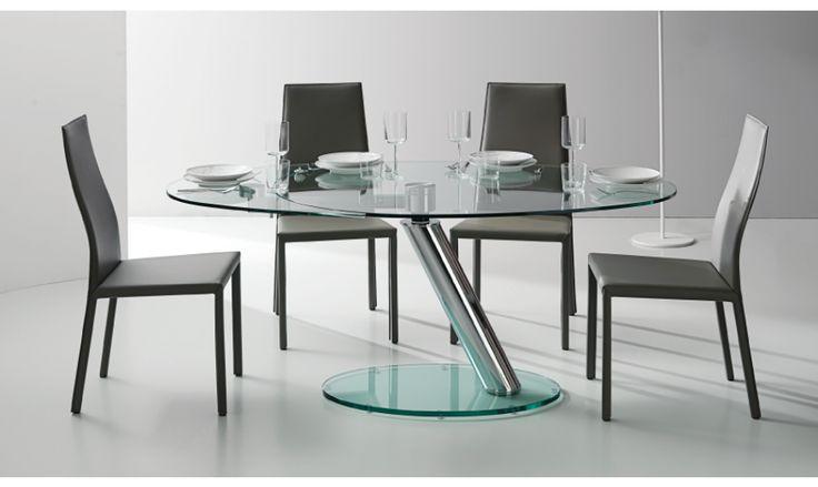 17 meilleures id es propos de table ronde avec rallonge sur pinterest din - Tables rondes a rallonges ...