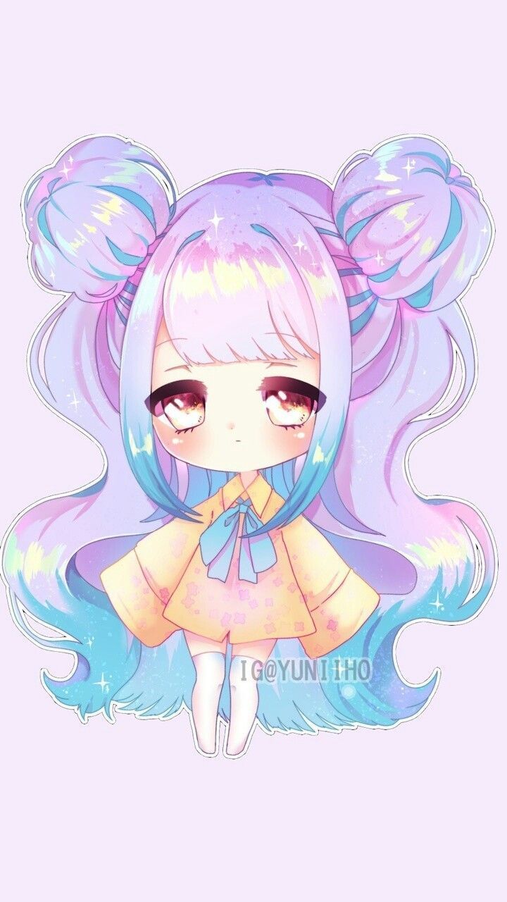 Anime Chibi Adorable Cute Drawings  Cute drawings, Anime art girl