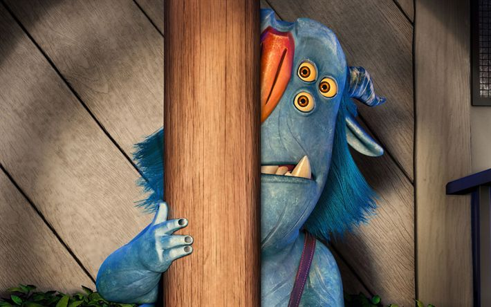 Download wallpapers Blinky, 3d-animation, cartoon characters, Trollhunters