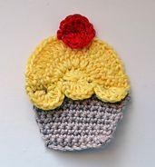 Ravelry: Cupcake applique pattern by Epsiej