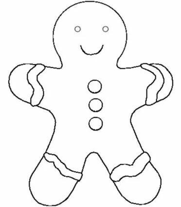 14 best Ecole  Bonhomme de pain du0027épice images on Pinterest - gingerbread man template