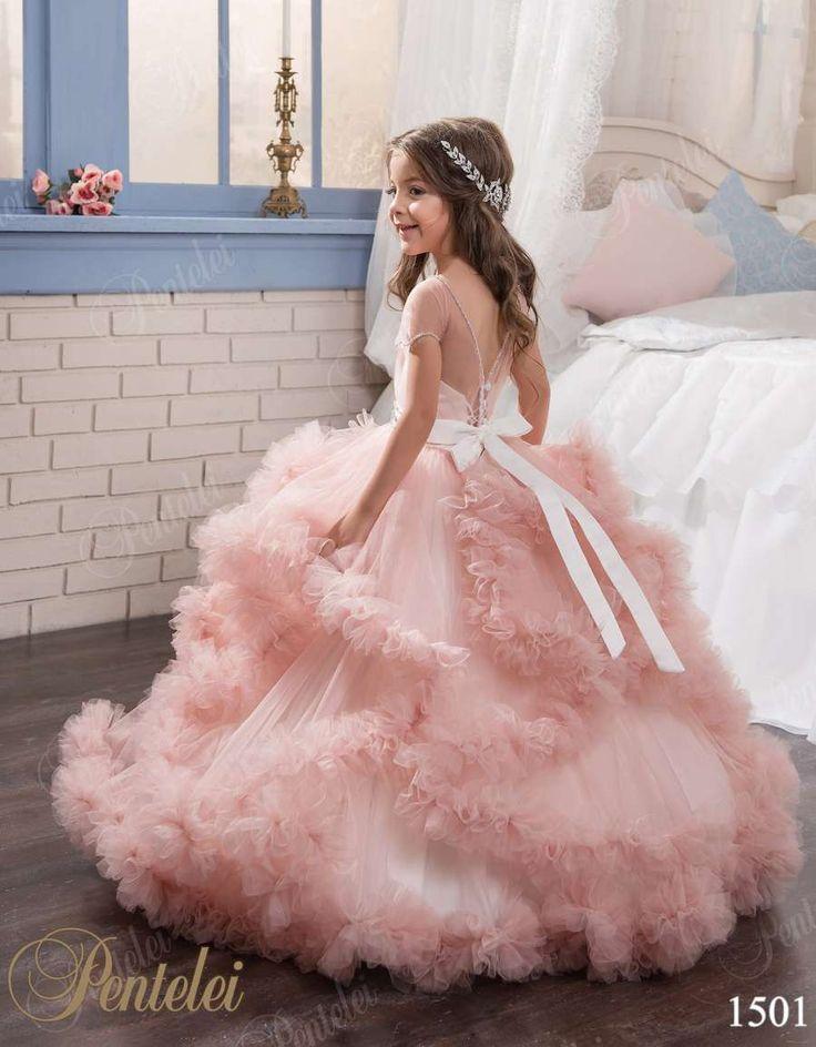 Original PENTELEI Girls dress - style1501 at: myweddingown.com