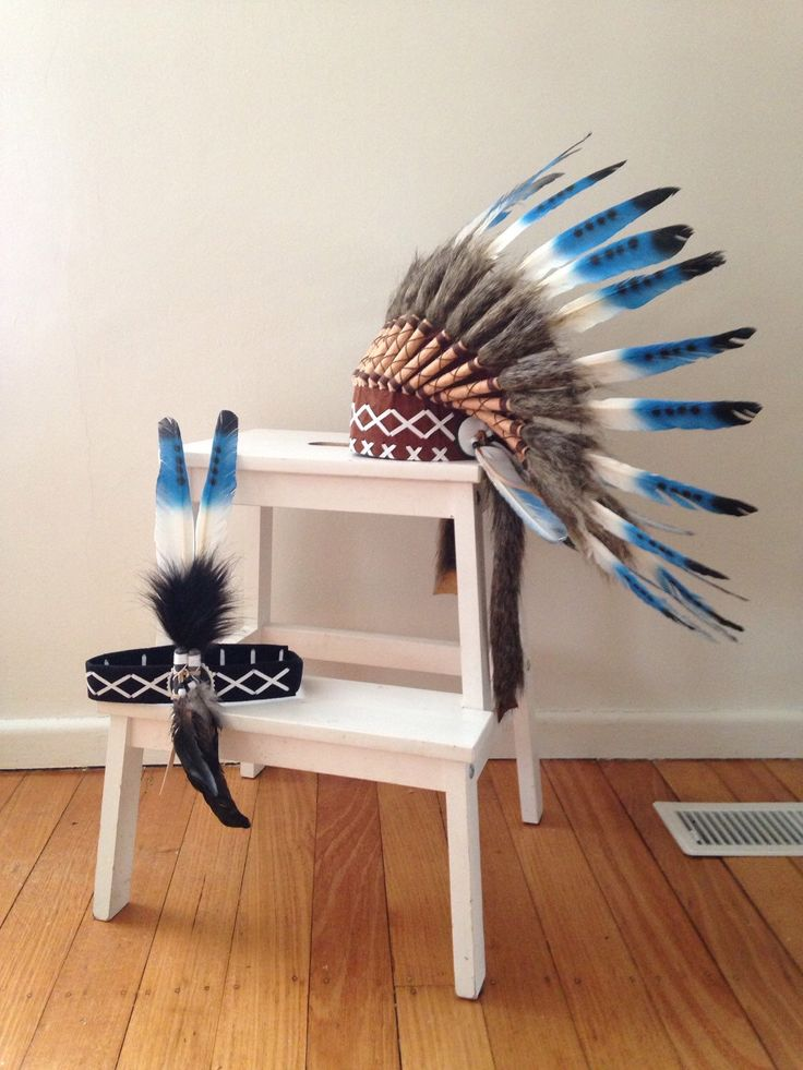 Blue Moon kids indian headdress by SpunkiiKidz on Etsy https://www.etsy.com/listing/246008973/blue-moon-kids-indian-headdress