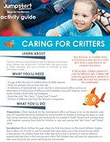 Caring for Critters Activity | Not Norman | 2015 Read for the Record Printable https://www.teachervision.com/pets/printable/76467.html