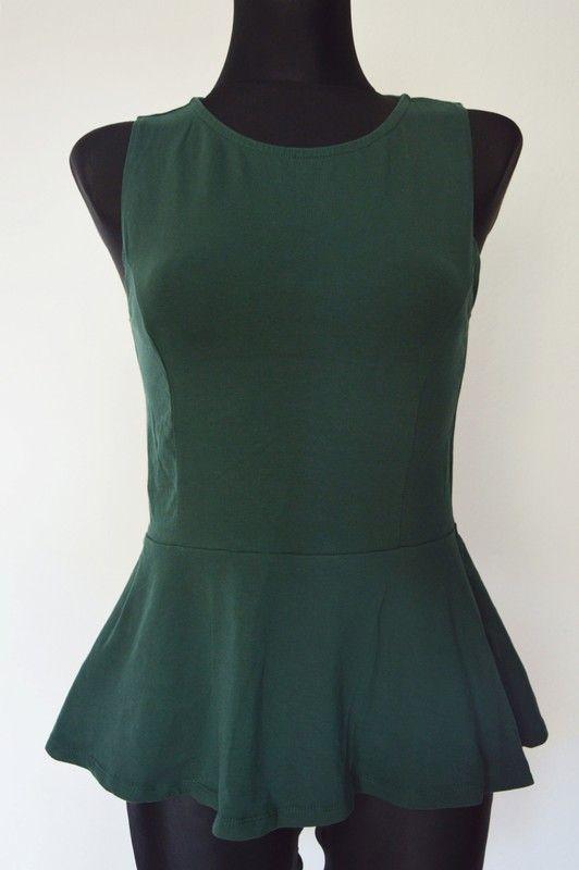 dwie baskinki, czarna zielona S/M