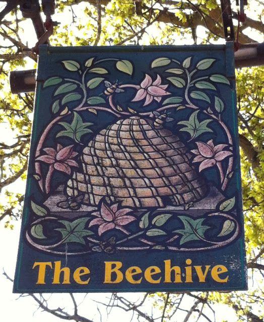 Pub Sign Art a la cARTe: The Beehive - Cheltenham, Gloucestershire
