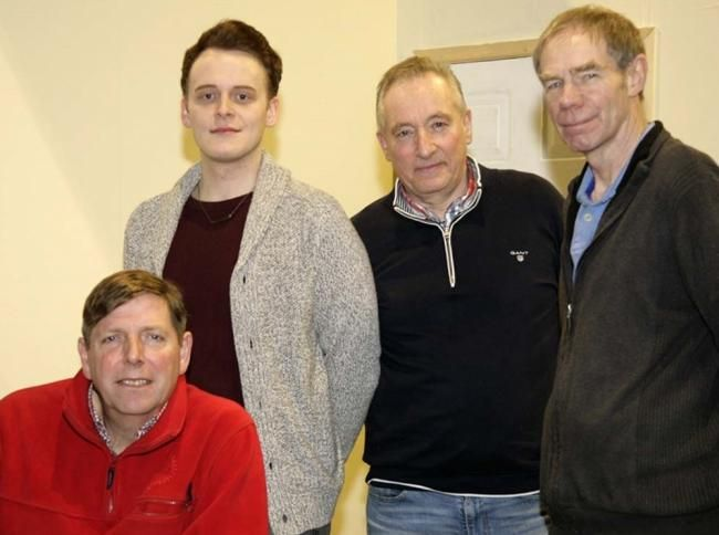 The cast of TLT's new play Dial M for Murder. Picture: Paul Whur