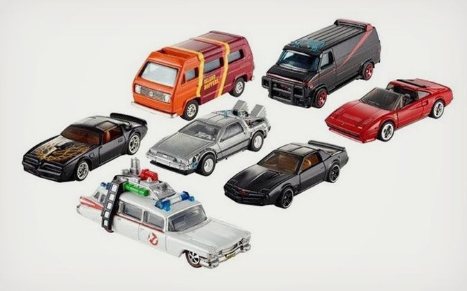 Hot Wheels Car Toy - Retro Entertainment Series by Mattel http://coolpile.com/gear-magazine/hot-wheels-car-toy-retro-entertainment-series-by-mattel/ via CoolPile.com - $10+ -  Amazon.com, Batman, Ghost Busters, Gifts For Him, Hot Wheels, K.I.T.T., Mattel, Scooby-Doo, Toys
