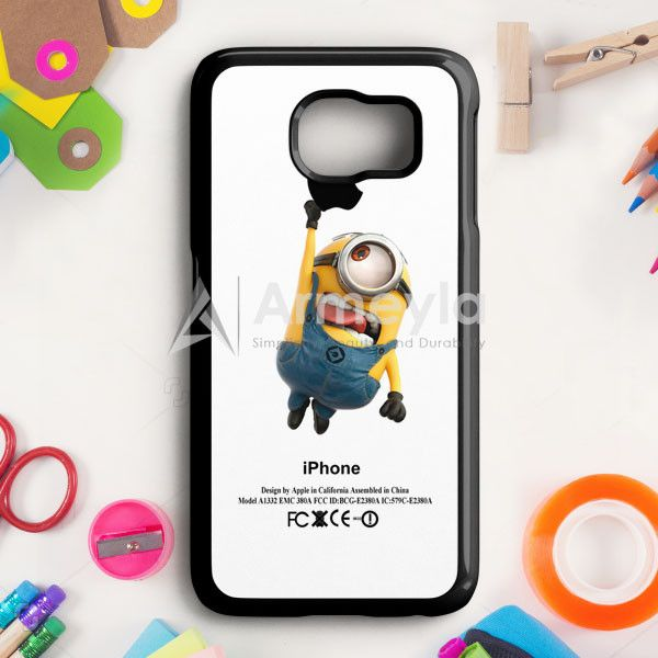 Despicable Me Minion Avenger Samsung Galaxy S6 Case | armeyla.com