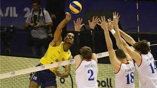 Blog Esportivo do Suíço:  Brasil bate a Sérvia de novo e garante a segunda vitória na Liga Mundial