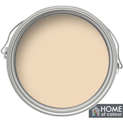 Home of Colour Kitchen and Bathroom Caramel Cream - Soft Sheen Emulsion Paint - 2.5L