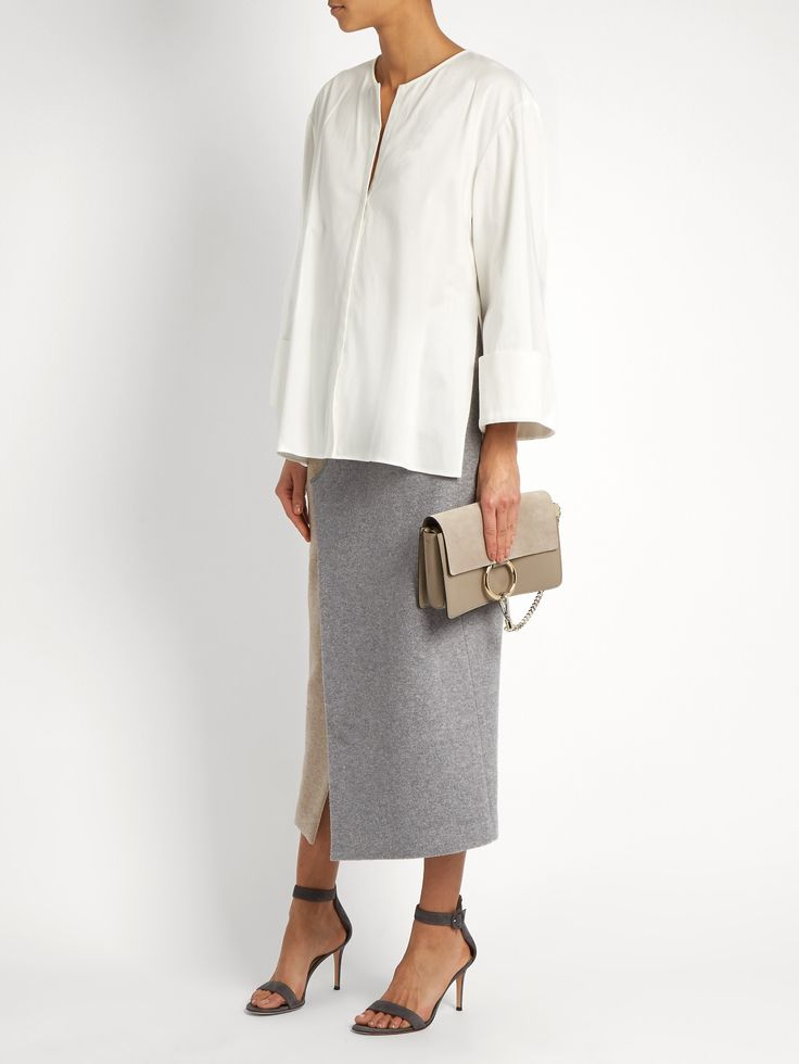 Round-neck cotton-sateen blouse | Carl Kapp | MATCHESFASHION.COM AU