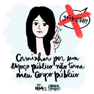 Campanha contra assédio sexual em espaços públicos #chegadefiufiu