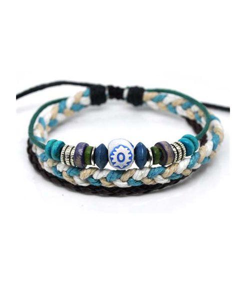 Hemp Beaded Bracelet Pack