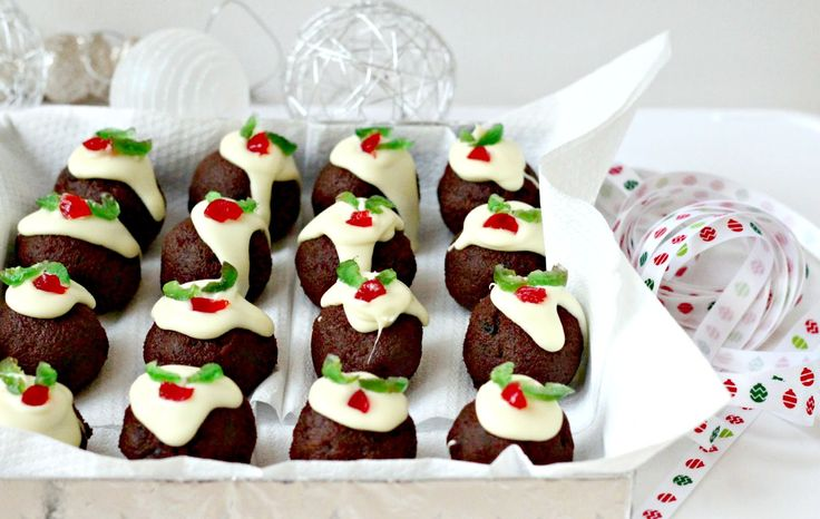 Mini Christmas Puddings Recipe