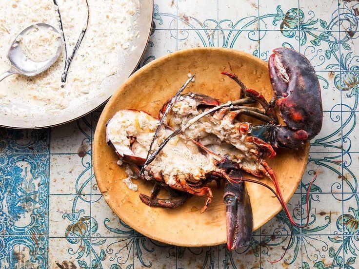 Lobster with vanilla sauce