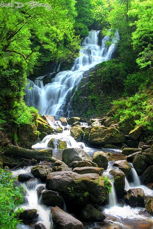 Torc Waterfall, Killarney National Forest, Killarney, Ireland 2011