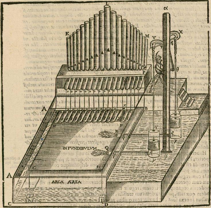 hydropneumatic organ