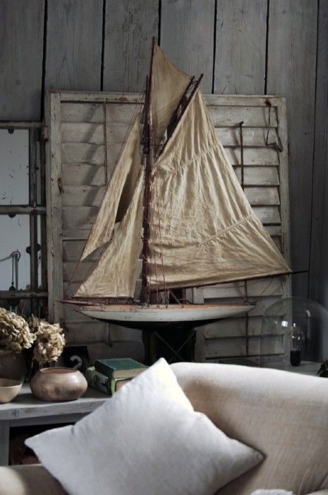 Sophisticated seaside chic interiors