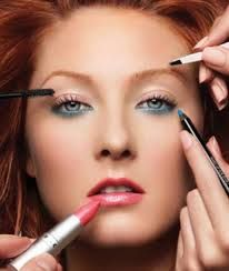 Image result for applying makeup art