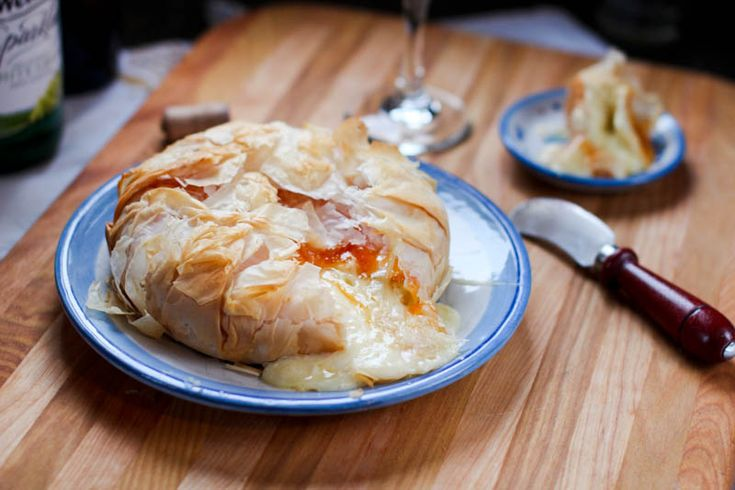 Baked Apricot Brie » A Full Measure of Happiness