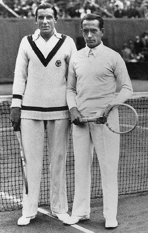 Фред Перри и Анри Коше 1931