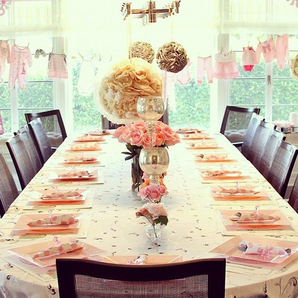 92 Best Images About Vintage Baby Shower On Pinterest