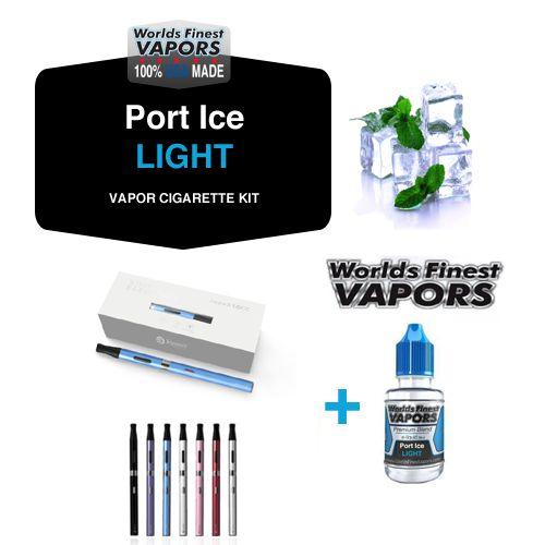 USA Made Vapor Cigarette Combo Pack with Menthol Light Tobacco eliquid vape juice