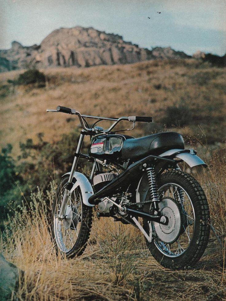 MSOLIS VINTAGE MOTORCYCLE - BAJA MSR-100