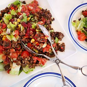 Taco Salad, a recipe from the ATCO Blue Flame Kitchen.
