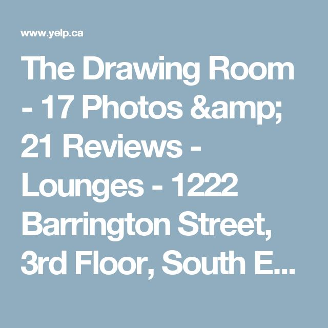 The Drawing Room - 17 Photos & 21 Reviews - Lounges - 1222 Barrington Street, 3rd Floor, South End, Halifax, NS - Phone Number - Yelp