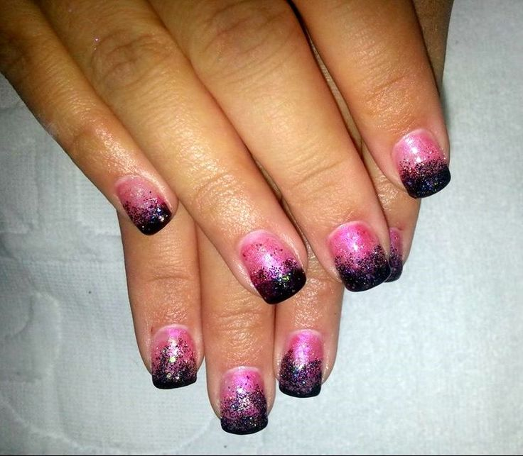 Ombre Nail Art: 194 Best Images About Ombre Nail Art On Pinterest