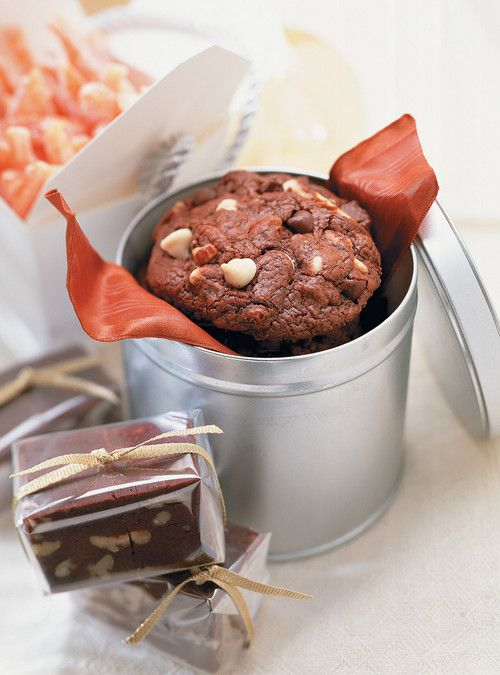 Biscuits choco croquants Recettes   Ricardo