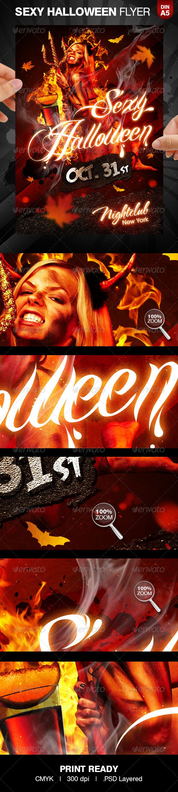 DOWNLOAD THIS FLYER HERE > http://graphicriver.net/item/sexy-halloween-party-flyer/493452?ref=anothergraphic