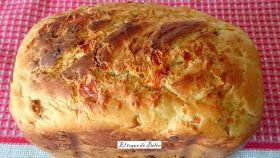 Este pan es el mas me ha gustado hasta ahora junto al de los pimientos y cebolla caramelizada jajja esincreíbley son salados los dos jijij...